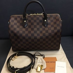 Handbags - Authentic Speedy 30 Bandouliere